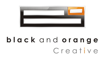 Black and Orange Creative