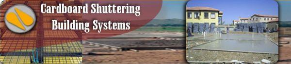 Cardboard Shuttering Building Systems